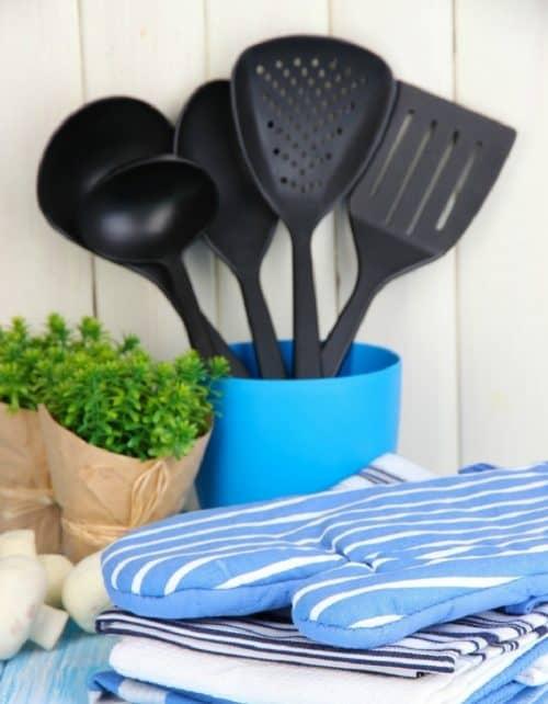 Как мыть кухонные принадлежности?
