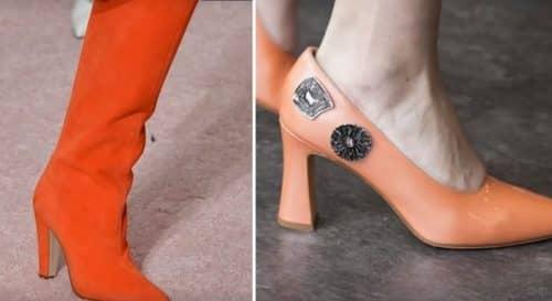 Модные тенденции обуви 2019