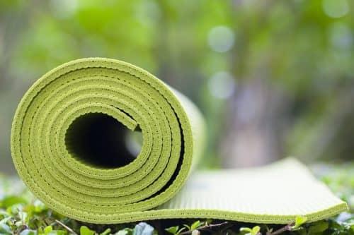 Стирка коврика для йоги в машинке