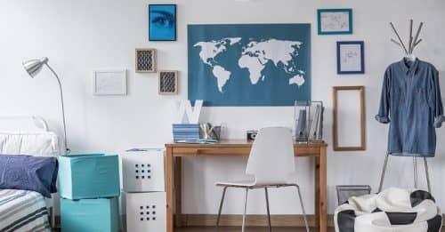 Как оформить комнату для школьника?
