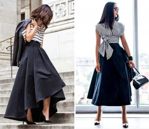 Стильные юбки на весну
