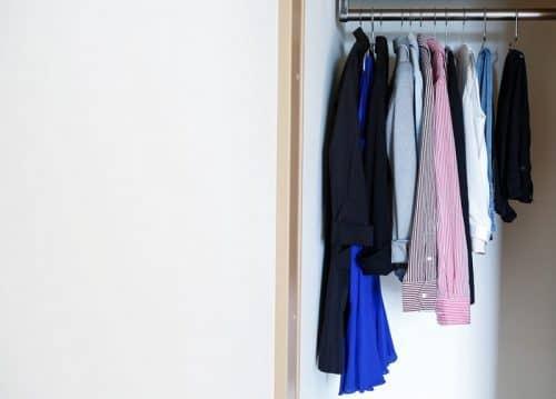Отсутствие лишней одежды