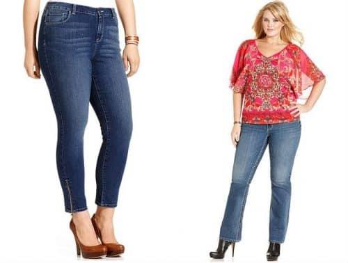 Идеальные джинсы для зрелой женщины