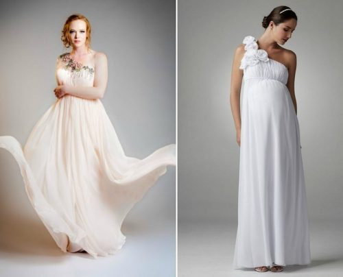 Нестандартные свадебные платья