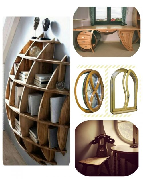 Домашняя мебель из дерева