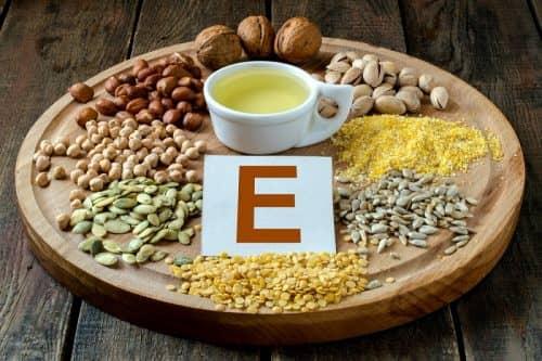 В чем содержится витамин Е
