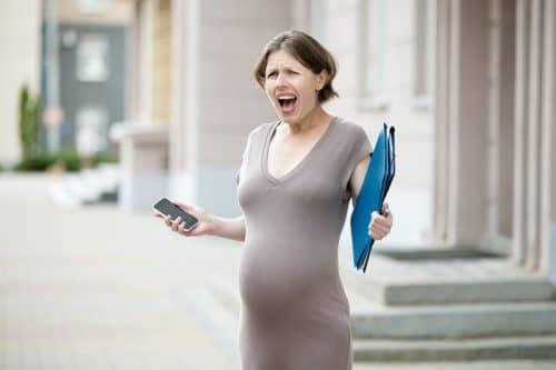 Портится ли при беременности характер?