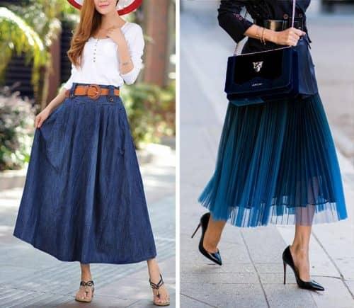 Расклешенные юбки