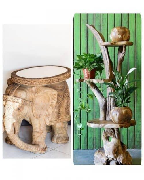 Стол в форме слона