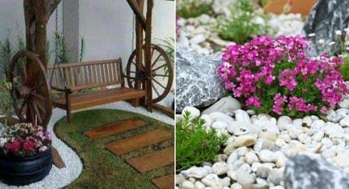 Как оформить двор возле дома?