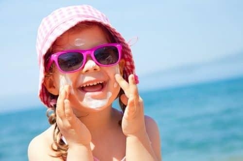 Солнечные ванны для детей