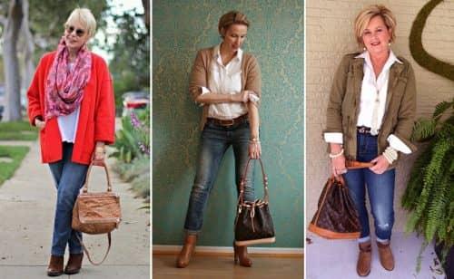 Какие джинсы подобрать взрослой женщине?
