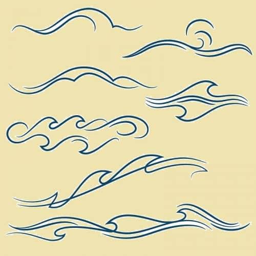 Для решения проблем рисуем волны и кольца