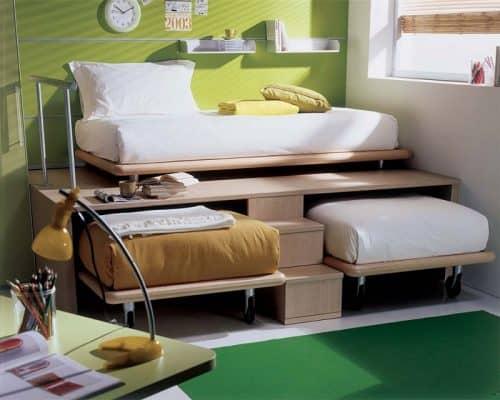 Спальное место в маленькой квартире