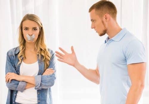 Мужчину не интересует ваше мнение