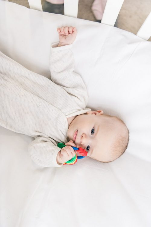 Важные моменты жизни младенца