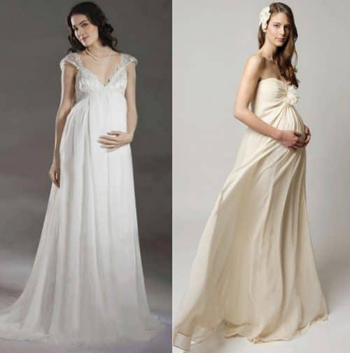 Свадебное платье из натуральных тканей