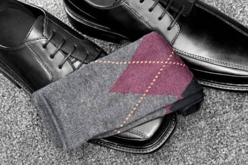 Сочетание обуви с носками