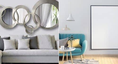 Увеличение комнаты зеркалом