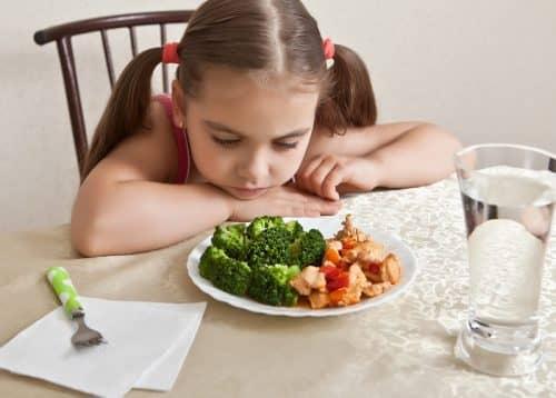 Не любовь к овощам при нехватке жиров