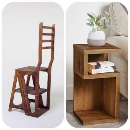 Необычная мебель из дерева