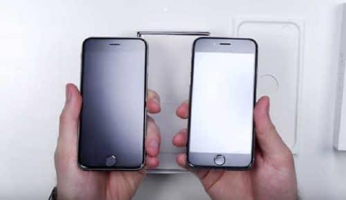 Экран поддельного телефона