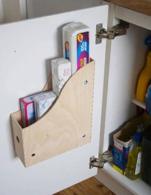 Функциональная дверца для шкафа
