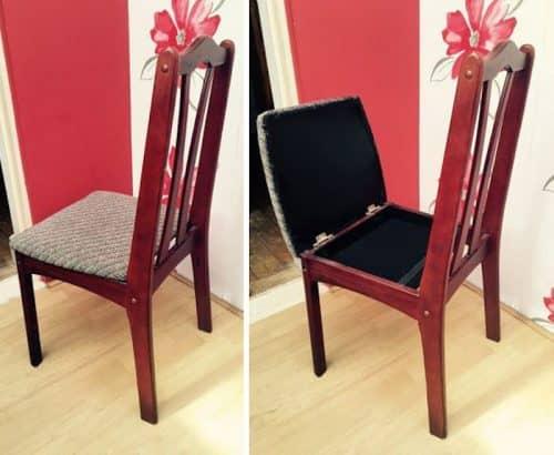 Тайник в стуле