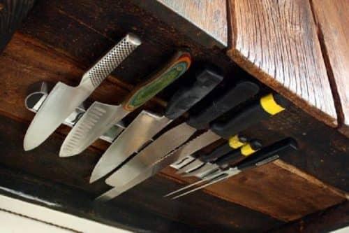 Хранение ножей