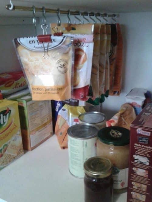 Организация порядка в кухонном шкафчике