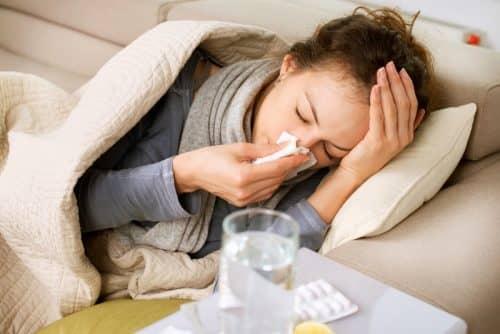 Слюноотделение при насморке