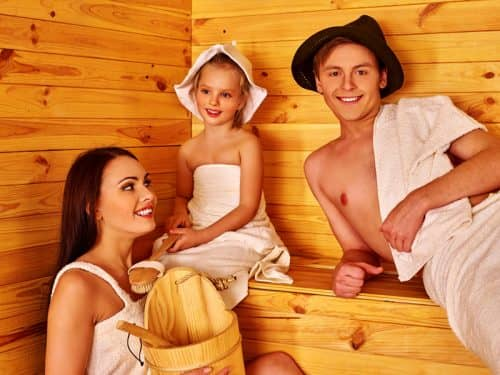 Посещение бани с детьми