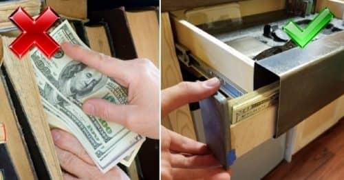 Где спрятать деньги
