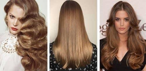 Окрашивание волос в теплые цвета