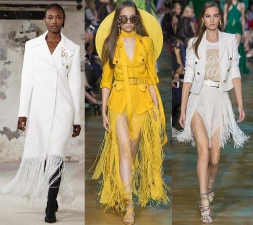 Модная бахрома 2019