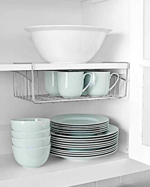 Организация места для посуды