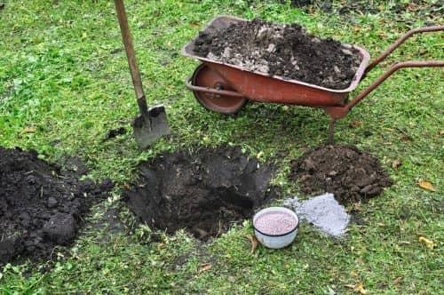 Смешивание слоев почвы