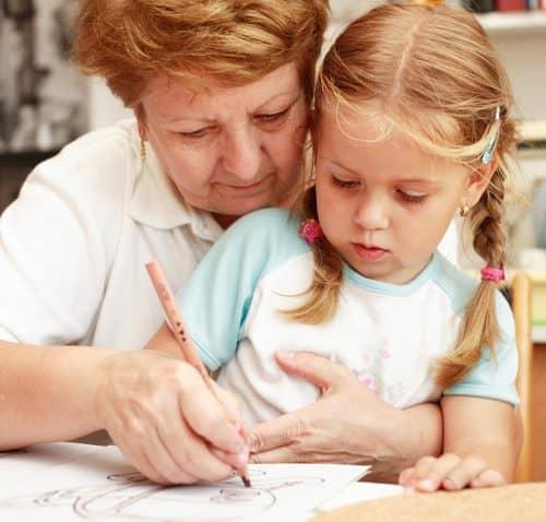 Помощь бабушки в воспитании ребенка