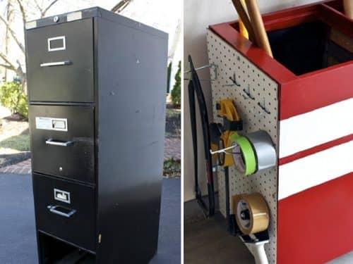 Реставрация шкафчика