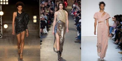 Модное асимметричное декольте