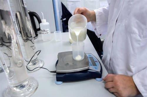 Фальсификация молока