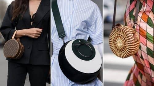 Модные круглые сумки