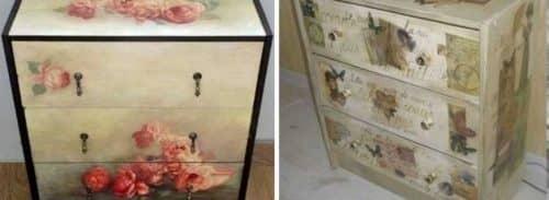Как переделать старую мебель дома?