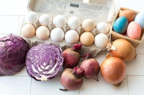 Выбор натуральных красителей для яиц