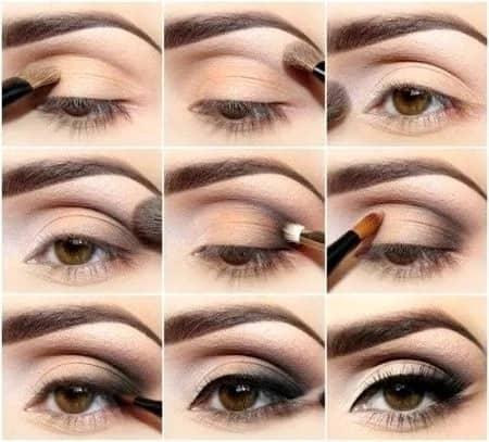 Повседневный макияж для глаз