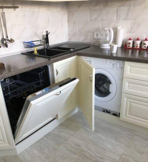 Минусы стиральной машинки на кухне